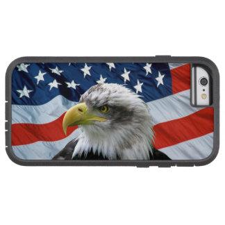 Bald Eagle American Flag Tough Xtreme iPhone 6 Case