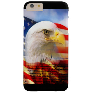 Bald Eagle and The American Flag Barely There iPhone 6 Plus Case