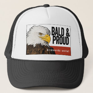 "Bald Eagle ""Bald & Proud"" Trucker Hat"