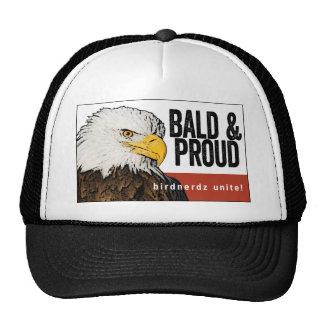 "Bald Eagle ""Bald & Proud"" Trucker Hat"