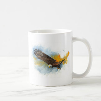 Bald Eagle Basic White Mug