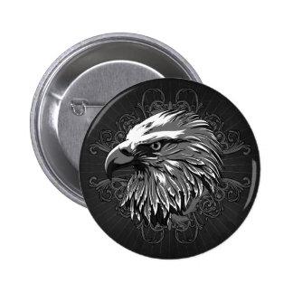 Bald Eagle Button Pin