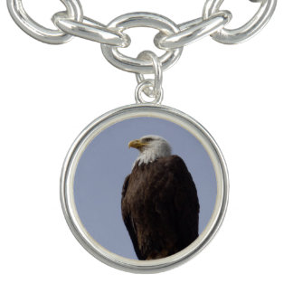 Bald Eagle Charm Bracelet