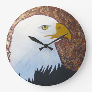 Bald Eagle Clock