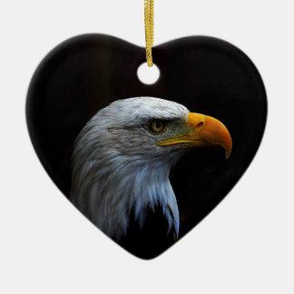 Bald Eagle copy.jpg Ceramic Heart Decoration