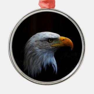 Bald Eagle copy.jpg Silver-Colored Round Decoration