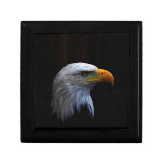 Bald Eagle copy.jpg Small Square Gift Box