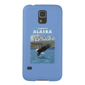Bald Eagle Diving - Seward, Alaska Cases For Galaxy S5