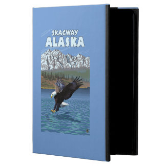 Bald Eagle Diving - Skagway, Alaska Cover For iPad Air
