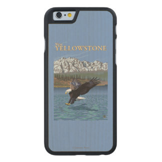 Bald Eagle Diving - West Yellowstone, MT Carved® Maple iPhone 6 Case