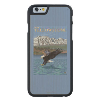 Bald Eagle Diving - West Yellowstone, MT Carved® Maple iPhone 6 Slim Case