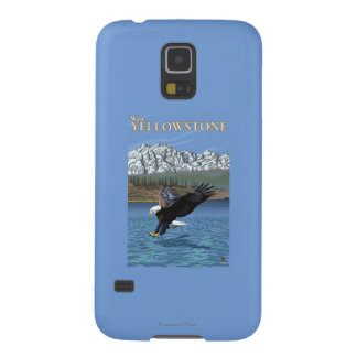 Bald Eagle Diving - West Yellowstone, MT Galaxy S5 Cases