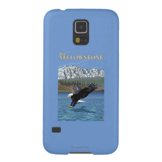 Bald Eagle Diving - West Yellowstone, MT Galaxy S5 Covers