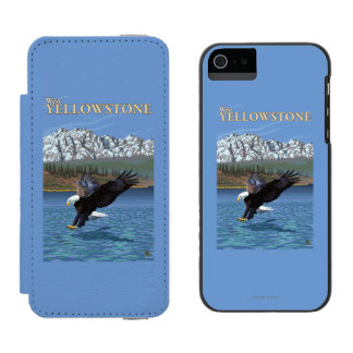 Bald Eagle Diving - West Yellowstone, MT Incipio Watson™ iPhone 5 Wallet Case