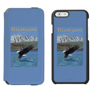 Bald Eagle Diving - West Yellowstone, MT Incipio Watson™ iPhone 6 Wallet Case