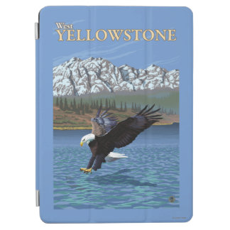 Bald Eagle Diving - West Yellowstone, MT iPad Air Cover