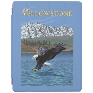 Bald Eagle Diving - West Yellowstone, MT iPad Cover
