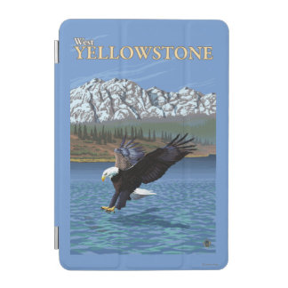 Bald Eagle Diving - West Yellowstone, MT iPad Mini Cover
