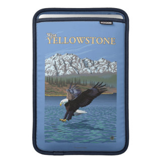 Bald Eagle Diving - West Yellowstone, MT MacBook Sleeves