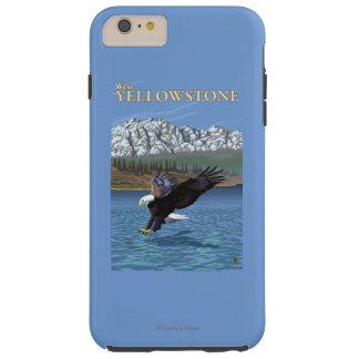 Bald Eagle Diving - West Yellowstone, MT Tough iPhone 6 Plus Case