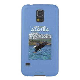 Bald Eagle Diving - Wrangell, Alaska Galaxy S5 Case