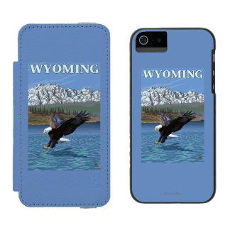 Bald Eagle Diving - Wyoming Incipio Watson™ iPhone 5 Wallet Case