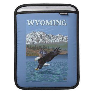 Bald Eagle Diving - Wyoming Sleeves For iPads
