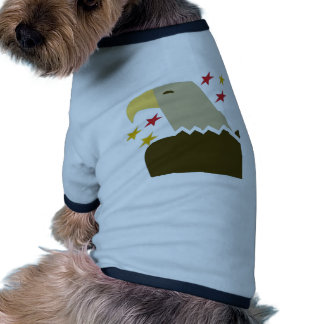 Bald Eagle Ringer Dog Shirt