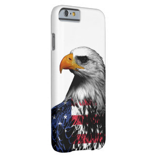 Bald Eagle draped in the American Flag Barely There iPhone 6 Case
