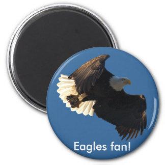Bald Eagle Flight Collection II 6 Cm Round Magnet