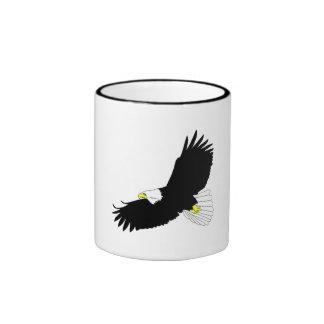 Bald Eagle Flying Coffee Mugs