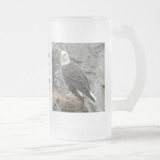 Bald Eagle Frosted Mug