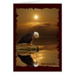 Bald Eagle Gratitude Greeting Card