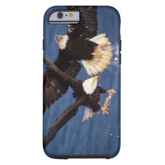 bald eagle, Haliaeetus leucocephalus, taking off Tough iPhone 6 Case