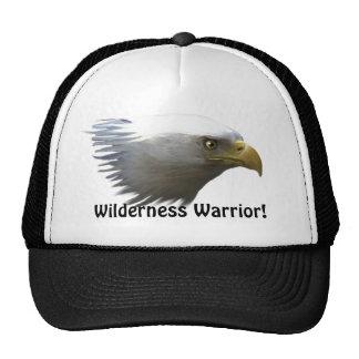 Bald Eagle Head Wilderness Warrior Outdoors Hat