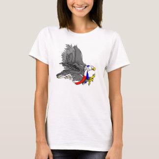 Bald Eagle Hunting Prey USA Scarf T-Shirt