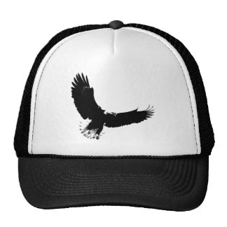 Bald Eagle in Flight Cap
