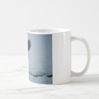 bald eagle in flight coffee mug
