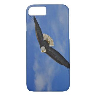 Bald Eagle in flight, Haliaetus leucocephalus, iPhone 8/7 Case