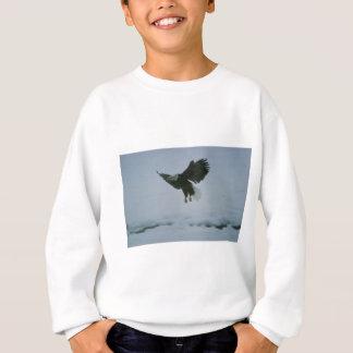 bald eagle in flight sweatshirt