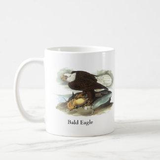 Bald Eagle, John Audubon Basic White Mug