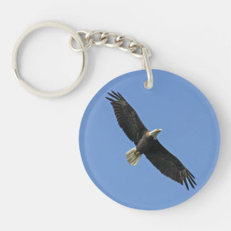 Bald Eagle Key Ring