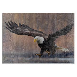 Bald Eagle landing Cutting Board