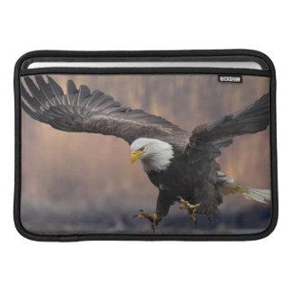Bald Eagle landing MacBook Air Sleeve