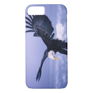 Bald Eagle Landing Wings Spread in a Storm, iPhone 8/7 Case