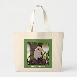 Bald Eagle Large Tote Bag