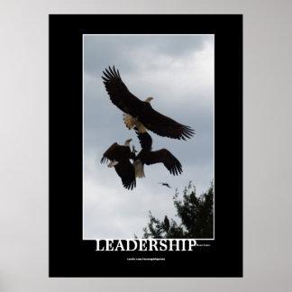 BALD EAGLE LEADERSHIP Motivational Photo Print