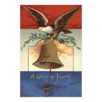 Bald Eagle Liberty Bell 4th of July Art Photo