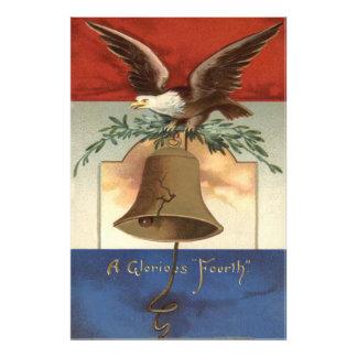 Bald Eagle Liberty Bell 4th of July Art Photo