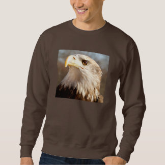 Bald Eagle Majestic Profile Sweatshirt